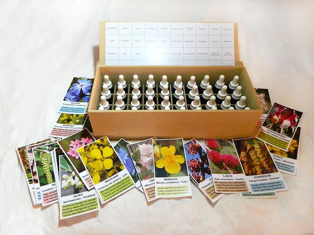 Set de extractos florales más tarot floral