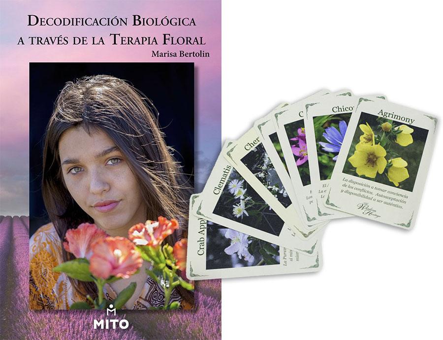 Libro Decodificación biológica a través de Terapia Floral+ Tarot